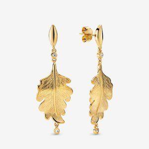 PANDORA Oak Leaf Earrings